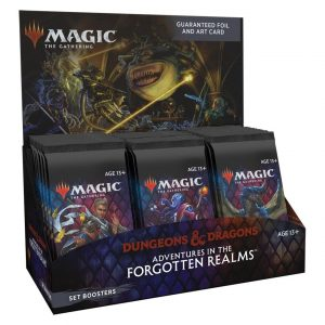 MTG, Magic, magic the gathering, dungeons and dragons, d&d, forgotten realms